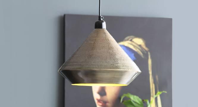 CHRYSLER  Hanging Lamp (Black Finish) by Urban Ladder - Design 1 Top View - 328108