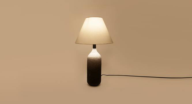 DHOLA table  lamp (Black Finish) by Urban Ladder - Design 1 Top View - 328176