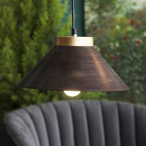 Empire conical hanging lamp lp