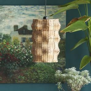 Wave hanging lamp tall (Black Finish) by Urban Ladder - Design 1 Details - 328217