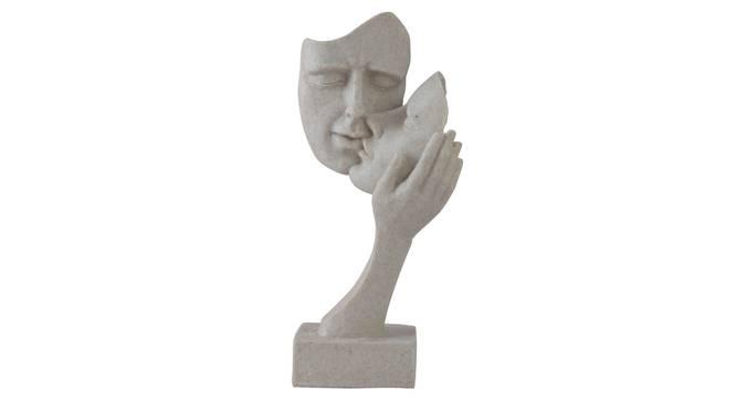 Risha Figurine (Cream) by Urban Ladder - Front View Design 1 - 328366