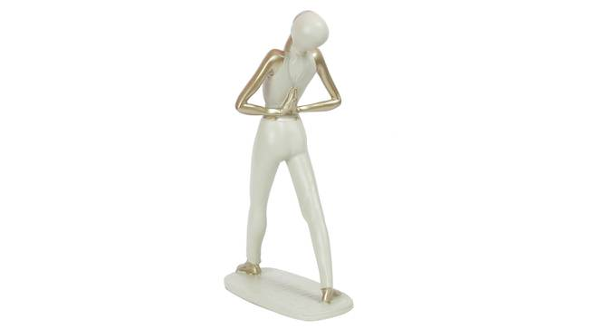 Ved Figurine (Cream) by Urban Ladder - Cross View Design 1 - 328562