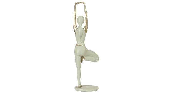 Zev Figurine (Cream) by Urban Ladder - Cross View Design 1 - 328595