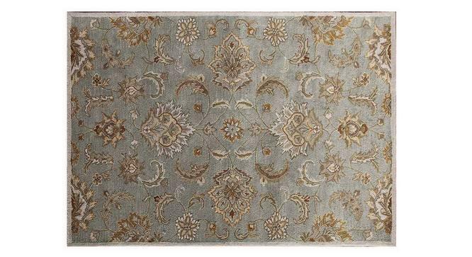 "Faiz Hand Tufted Carpet (244 x 305 cm  (96"" x 120"") Carpet Size, Antique White) by Urban Ladder - Cross View Design 1 - 328735"