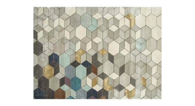 "Galicha Hand Tufted Carpet (122 x 183 cm  (48"" x 72"") Carpet Size, Ashwood) by Urban Ladder - Cross View Design 1 - 328834"