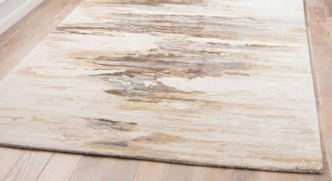 "Nagma Hand Tufted Carpet (White, 152 x 244 cm  (60"" x 96"") Carpet Size) by Urban Ladder - Front View Design 1 - 328960"