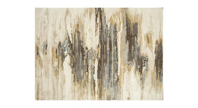 "Nagma Hand Tufted Carpet (Grey, 244 x 305 cm  (96"" x 120"") Carpet Size) by Urban Ladder - Cross View Design 1 - 328973"