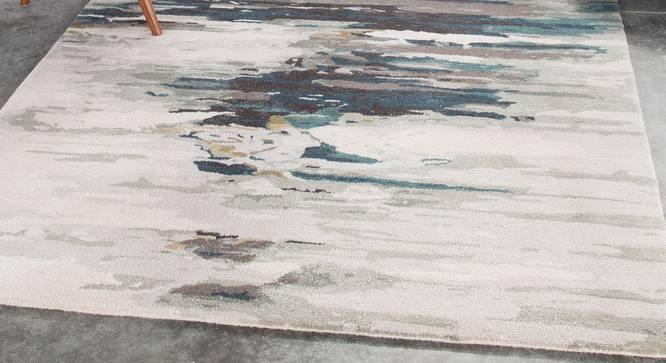 "Nagma Hand Tufted Carpet (Blue, 171 x 244 cm (67"" x 96"") Carpet Size) by Urban Ladder - Front View Design 1 - 328976"
