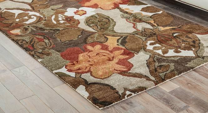 "Resham Hand Tufted Carpet (61 x 91 cm  (24"" x 36"") Carpet Size, White Ice) by Urban Ladder - Front View Design 1 - 329028"