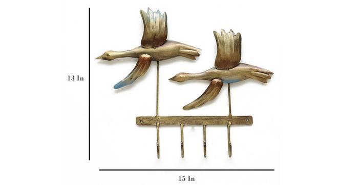 Ibis Bird Key Holder by Urban Ladder - Cross View Design 1 - 329228