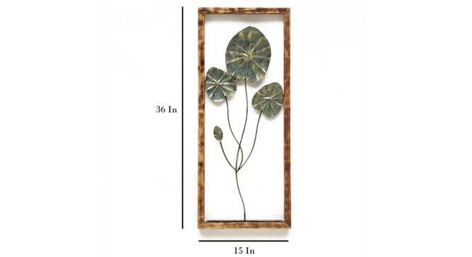 Penny Leaves Wall Decor by Urban Ladder - Cross View Design 1 - 329288