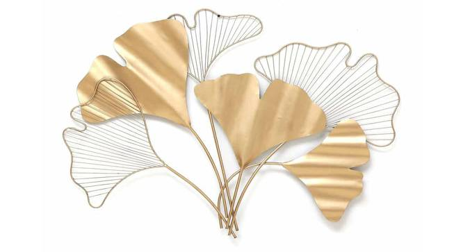 Ginko Leaf Wall Decor (Gold) by Urban Ladder - Front View Design 1 - 329357