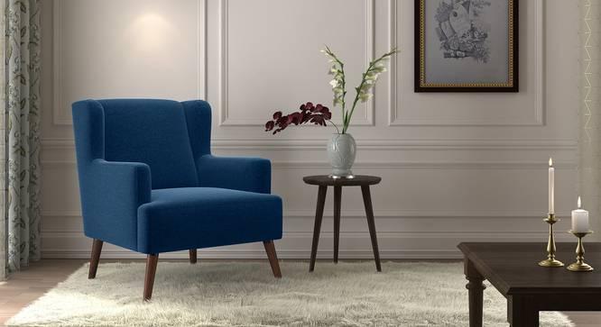 Brando Arm Chair (Cobalt) by Urban Ladder - Full View Design 1 - 329832
