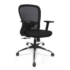Cohen Study Chair (Black) by Urban Ladder - Design 1 - 329833
