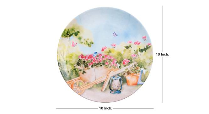 Tuin Wall Plate by Urban Ladder - Cross View Design 1 - 329924