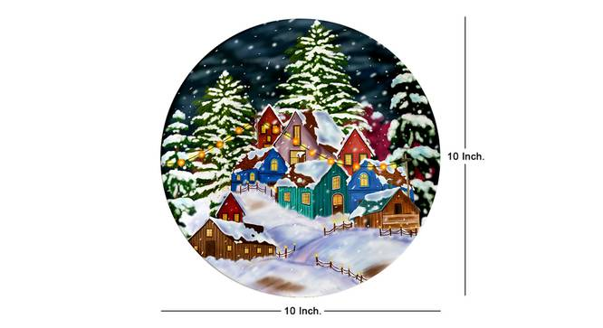 Yule Wall Plate by Urban Ladder - Cross View Design 1 - 329985