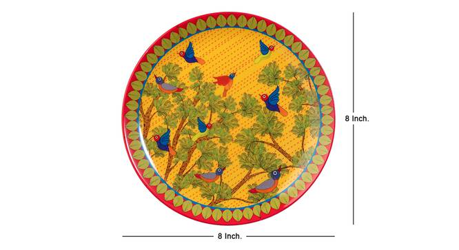 Gond Wall Plate by Urban Ladder - Cross View Design 1 - 330058