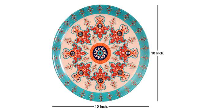 Paisley Small Wall Plate by Urban Ladder - Cross View Design 1 - 330108