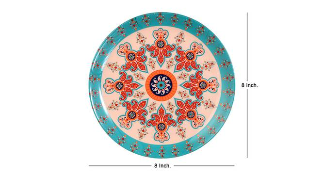 Paisley Small Wall Plate by Urban Ladder - Cross View Design 1 - 330114