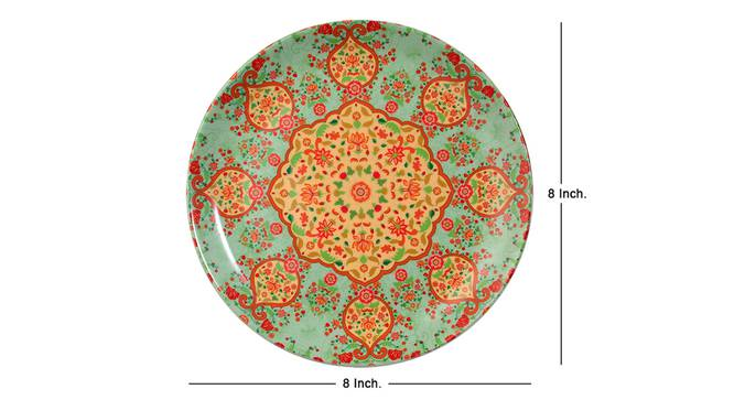 Ornate Wall Plate by Urban Ladder - Cross View Design 1 - 330193