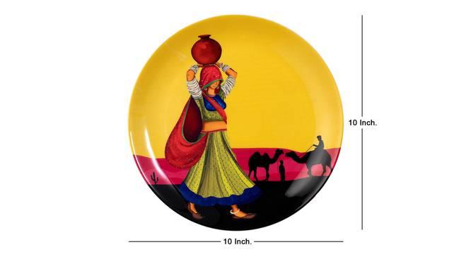 Chhori Wall Plate by Urban Ladder - Cross View Design 1 - 330211