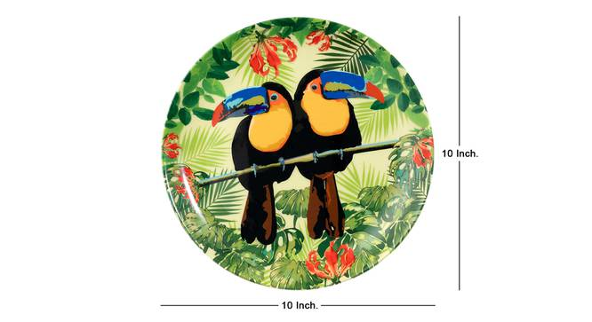 Toucan Wall Plate by Urban Ladder - Cross View Design 1 - 330292