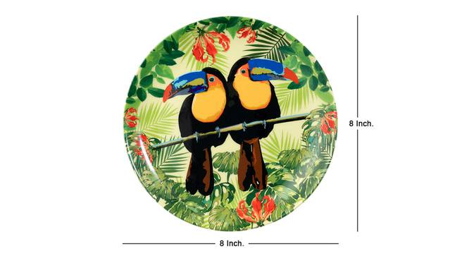 Toucan Wall Plate by Urban Ladder - Cross View Design 1 - 330295