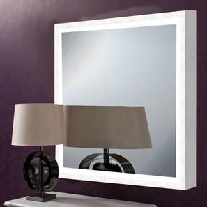 Gilda Bathroom Mirror (White) by Urban Ladder - Design 1 - 330327