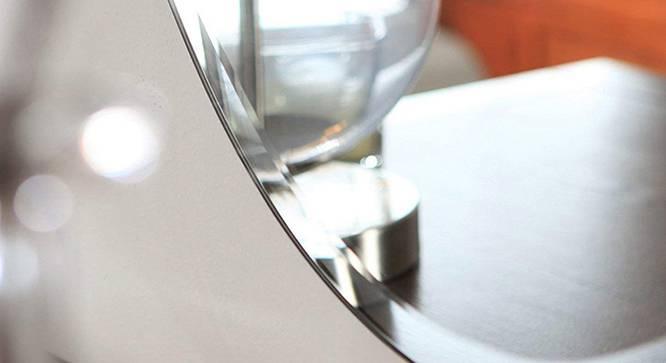 Esperanza Bathroom Mirror (Silver) by Urban Ladder - Front View Design 1 - 330358