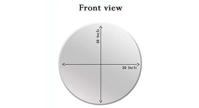 Esperanza Bathroom Mirror (Silver) by Urban Ladder - Cross View Design 1 - 330359