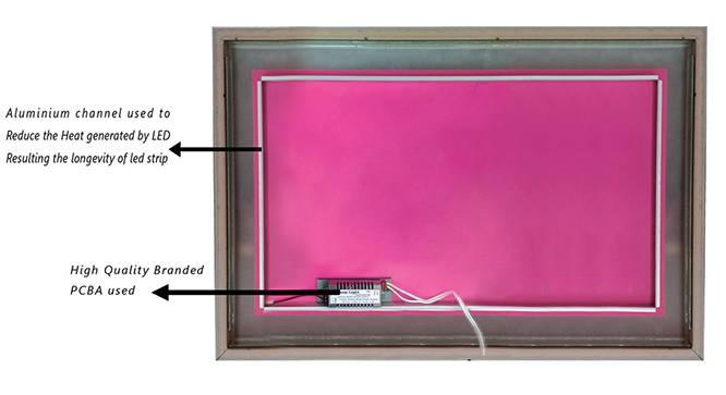 Svetlana Bathroom Mirror (White) by Urban Ladder - Front View Design 1 - 330369