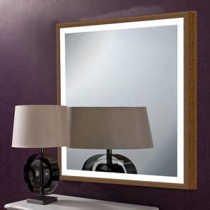 Harper Bathroom Mirror (Brown) by Urban Ladder - Front View Design 1 - 330323