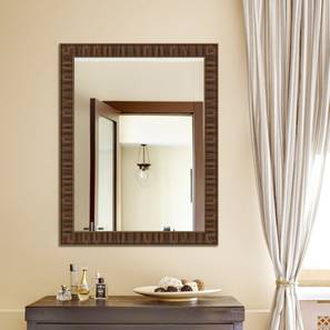 Rashya Mirror (Brown) by Urban Ladder - Front View Design 1 - 330404