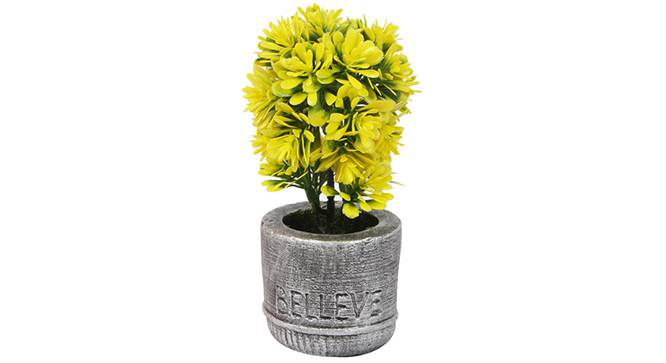 Buch Artificial Plant (Yellow) by Urban Ladder - Front View Design 1 - 330425