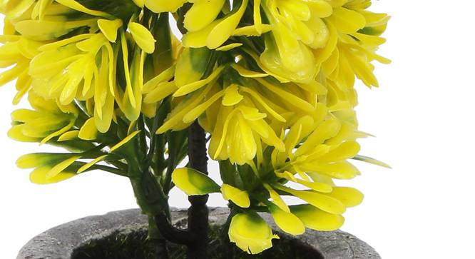 Buch Artificial Plant (Yellow) by Urban Ladder - Cross View Design 1 - 330426