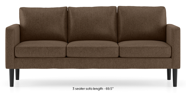 Liverpool Sofa (Mocha) (2-seater Custom Set - Sofas, None Standard Set - Sofas, Mocha, Fabric Sofa Material, Regular Sofa Size, Regular Sofa Type)