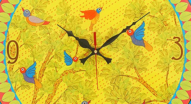 Gond Wall Clock by Urban Ladder - Front View Design 1 - 331173