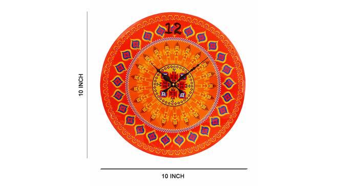 Ikat Wall Clock by Urban Ladder - Cross View Design 1 - 331177
