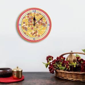 Kalamkari wall clock lp