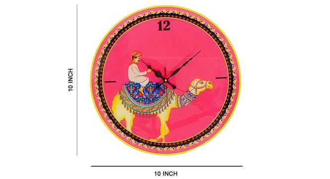 Kamel Wall Clock by Urban Ladder - Cross View Design 1 - 331199