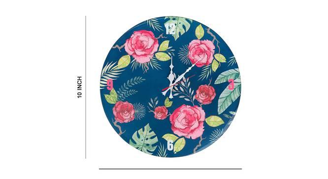 Bliss Wall Clock (Multi Colour) by Urban Ladder - Cross View Design 1 - 331208