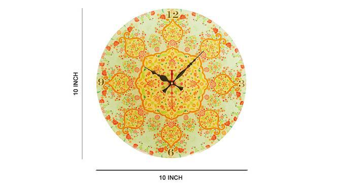 Ornate Wall Clock by Urban Ladder - Cross View Design 1 - 331214
