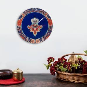Paisley wall clock lp