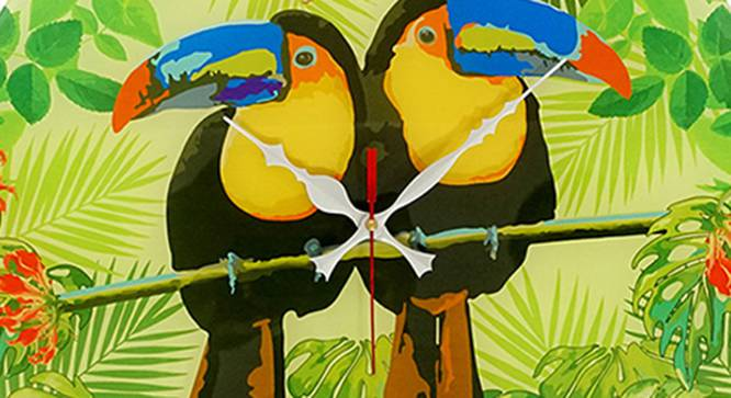 Toucan Wall Clock by Urban Ladder - Front View Design 1 - 331221
