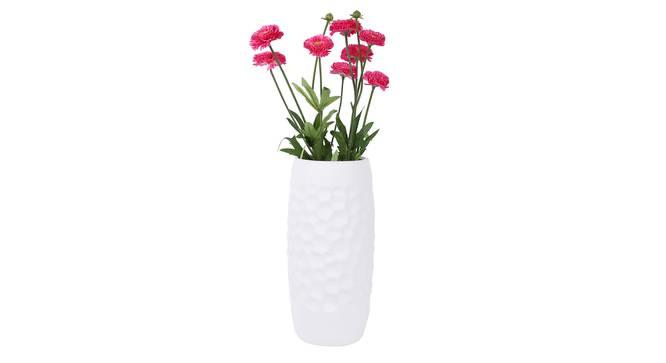 Stojan Vase (White) by Urban Ladder - Front View Design 1 - 331403