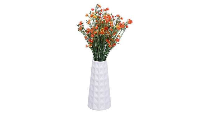 Vasil Vase (White) by Urban Ladder - Front View Design 1 - 331406