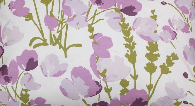 Himalayan Poppies Bedsheet Set (Purple, King Size) by Urban Ladder - Design 1 Top View - 331467