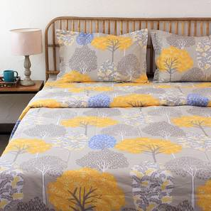 Saptaparni Quilt (Yellow, Double Size) by Urban Ladder - Design 1 Details - 331477