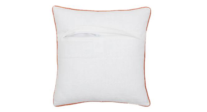 "Aaankit Cushion Cover (Orange, 41 x 41 cm  (16"" X 16"") Cushion Size) by Urban Ladder - Front View Design 1 - 331529"