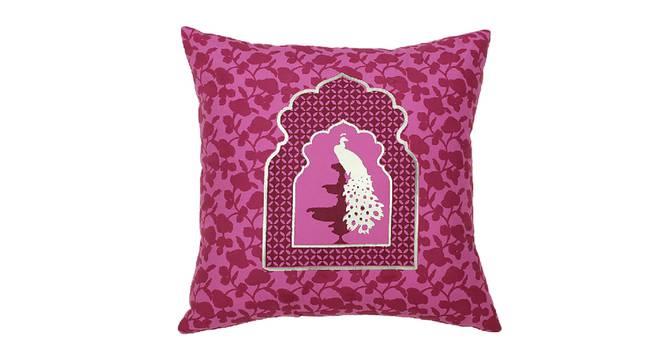 "Jaalak Cushion Cover (Purple, 41 x 41 cm  (16"" X 16"") Cushion Size) by Urban Ladder - Design 1 Details - 331540"